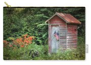 Patriotic Outhouse Carry-all Pouch