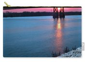 Patriotic Sunset Thru Bridge Carry-all Pouch