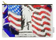 Patriotic Symbolism Carry-all Pouch
