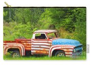 Patriotic Truck Carry-all Pouch