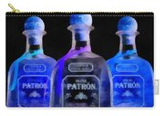 Patron Tequila Black Light Carry-all Pouch
