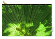 Green Plant Pattern Carry-all Pouch