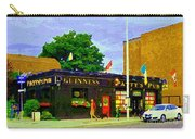 Patty's Pub Guinness On The Glebe Restaurant Bar Bank And Ossington Paintings Of Ottawa Art Cspandau Carry-all Pouch
