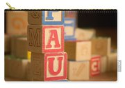 Paul - Alphabet Blocks Carry-all Pouch