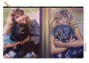 Paula Commissioned Portrait Side By Side Carry-all Pouch