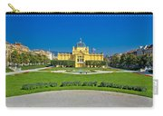 Pavillion In Green Park Of Zagreb Carry-all Pouch