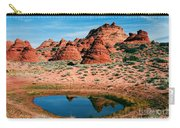 Paw Hole Reflections Carry-all Pouch by Mike  Dawson
