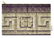 Pawnee Butterfly Frieze II Carry-all Pouch