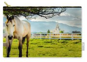 Payson Country Temple Oil Paint Texture Carry-all Pouch
