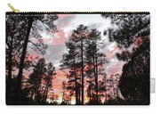 Payson Pines Sunset Carry-all Pouch