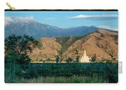 Payson Temple Mountains Carry-all Pouch