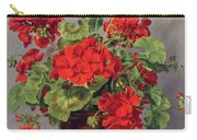 Geranium In An Earthenware Vase Carry-all Pouch