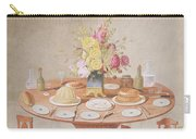 Pd.869-1973 Still Life With A Vase Carry-all Pouch