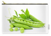 Pea Pods And Green Peas Carry-all Pouch