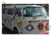 Peace And Love Van Carry-all Pouch