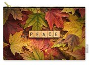 Peace-autumn Carry-all Pouch