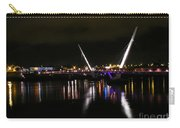 The Peace Bridge At Night Carry-all Pouch