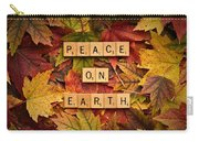 Peace On Earth-autumn Carry-all Pouch