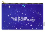 Peace On Earth Card Carry-all Pouch