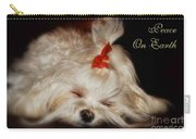 Peace On Earth Carry-all Pouch by Lois Bryan