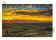 Peace Carry-all Pouch by Robert Bales