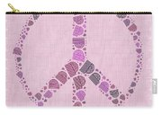 Peace Symbol Design - 42ct2b Carry-all Pouch