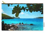 Peaceful Beach St. Thomas Carry-all Pouch