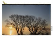 Peaceful Blues And Golds  Carry-all Pouch