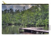 Peaceful Dock Carry-all Pouch by David Troxel