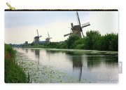 Peaceful Dutch Canal Carry-all Pouch by Carol Groenen