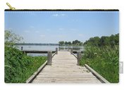 Peaceful Fishing Dock Carry-all Pouch