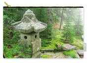 Peaceful Japanese Garden On Mount Desert Island Carry-all Pouch