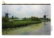 Peaceful Kinderdijk Carry-all Pouch