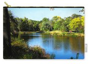 Peaceful Lake Carry-all Pouch by Susan Savad