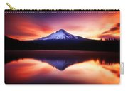 Peaceful Morning On The Lake Carry-all Pouch by Darren  White