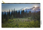 Peaceful Mountain Flowers Carry-all Pouch