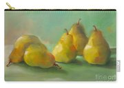 Peaceful Pears Carry-all Pouch by Michelle Abrams