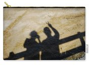 Peaceful People Shadows Carry-all Pouch