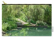 Peaceful Willow Tree Art Prints Carry-all Pouch
