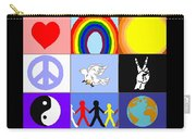 peaceloveunity Mosaic Carry-all Pouch