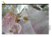 Peach Blossom In Ice Three Carry-all Pouch