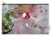 Peach Blossom In Ice Two Carry-all Pouch