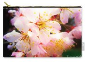 Pale Peach Blossom Carry-all Pouch