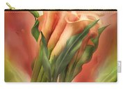 Peach Callas Carry-all Pouch