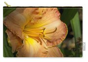 Peach Daylily Delight Carry-all Pouch