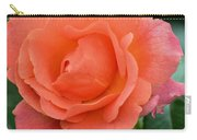 Peach Faced Rose Carry-all Pouch