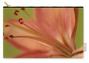 Peach Lily 1 Carry-all Pouch