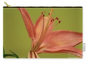 Peach Lily 4 Carry-all Pouch