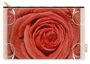 Peach Love Rose Carry-all Pouch