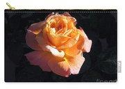 Peach Rose Palm Desert Carry-all Pouch